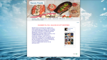 Racon Foods layout.